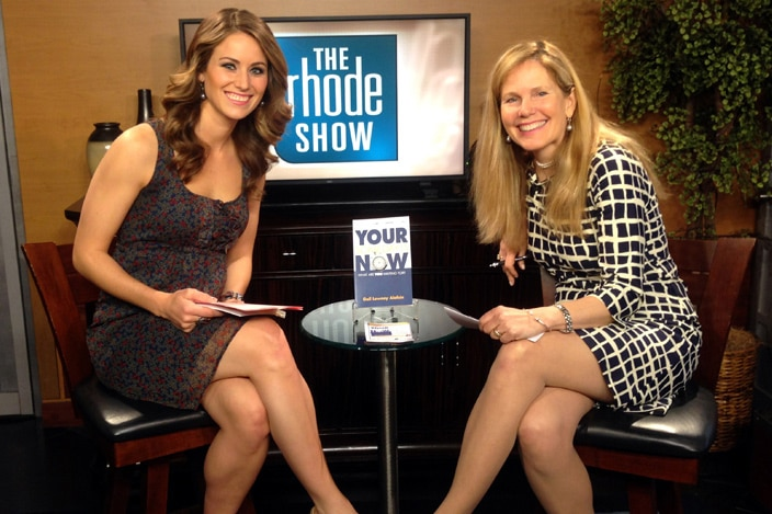 Gail on the rhode show