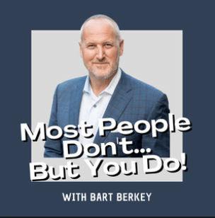 Most People Dont But You Do! Podcast Image